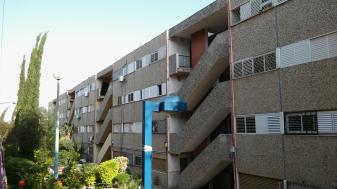 מעונות הסטודנטים בשדרות. צילום: עדן פרדה.