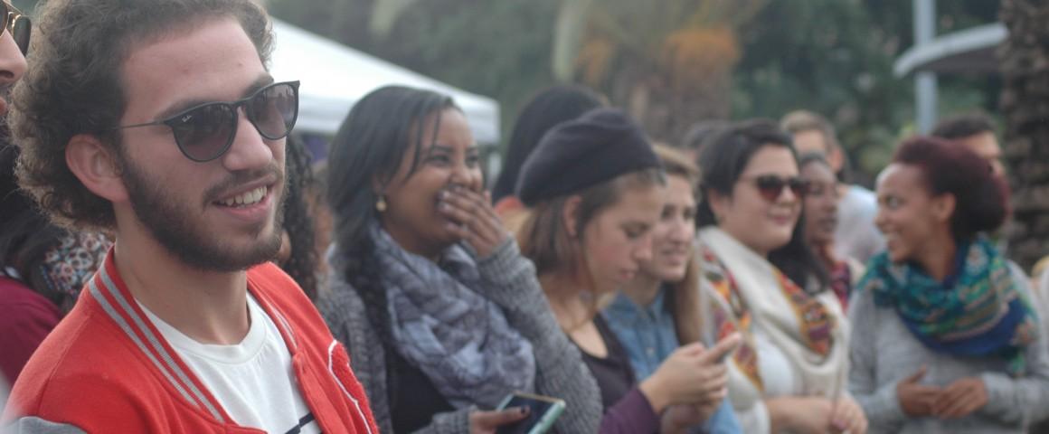 צעירים במכללת ספיר. צילום: אייל גטו