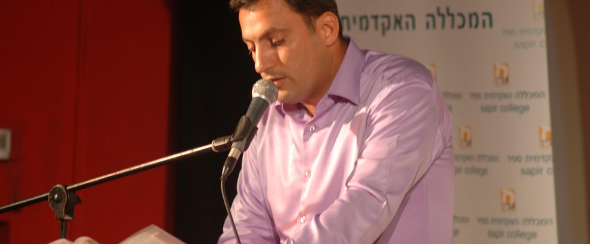 ראש עיריית שדרות אלון דוידי. צילום: אייל גטו