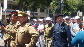 מצעד הוטרנים בירושלים. צילום: פולינה רסקין