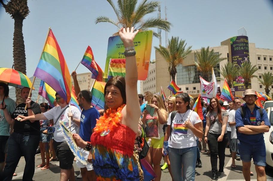 מצעד הגאווה באשדוד, 2016. צילום: יהודית קלר