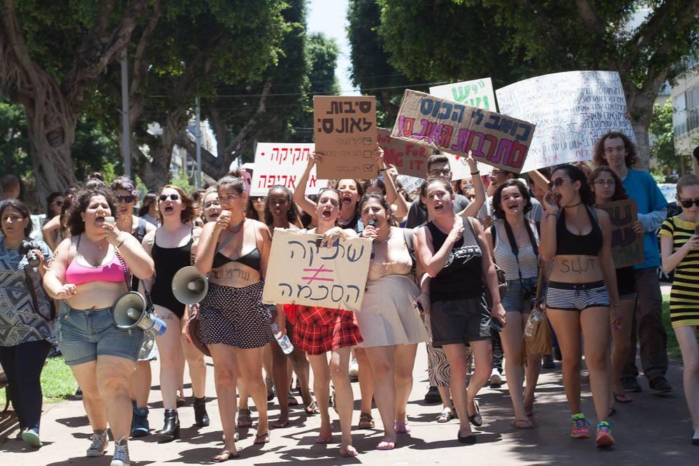 צעדת השרמוטות, יולי השנה בתל אביב. צילום: גילי קוסקס