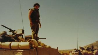 אבא במילואים 1982 מלחמת לבנון הראשונה, זמן התרעננות לפני הכניסה