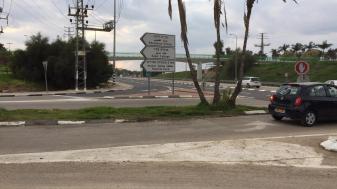 צומת ספירים ליד שער תקשורת. צילום: אמיתי דואק