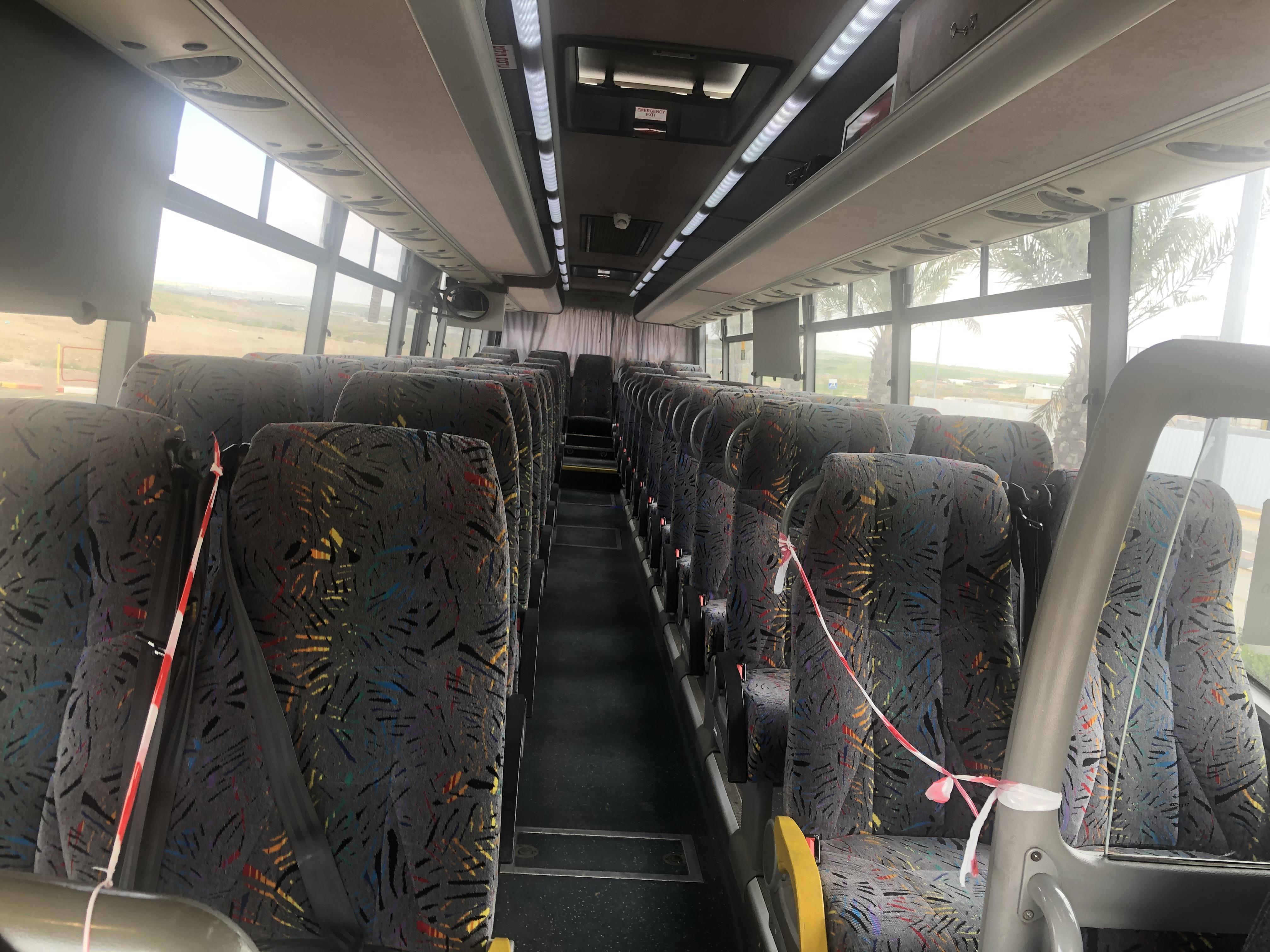 אוטובוס מטרופולין | צילום: חסין אלדאדה