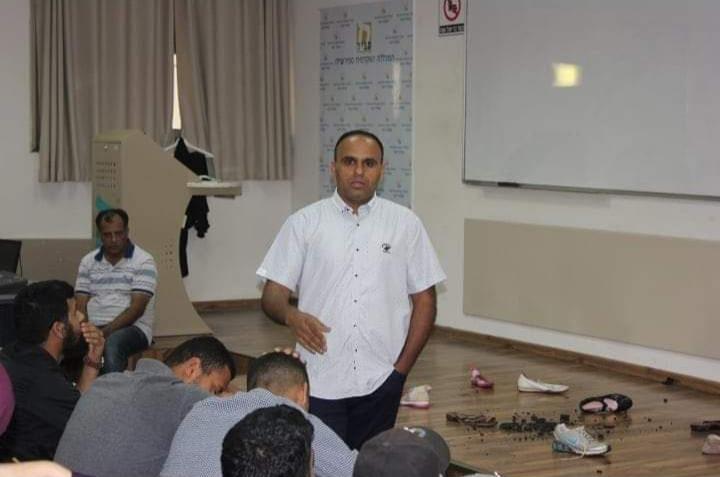 עאמר אזבארגה מנהל היחידה. צילום:היחידה להנגשת ההשכלה לחברה הערבית