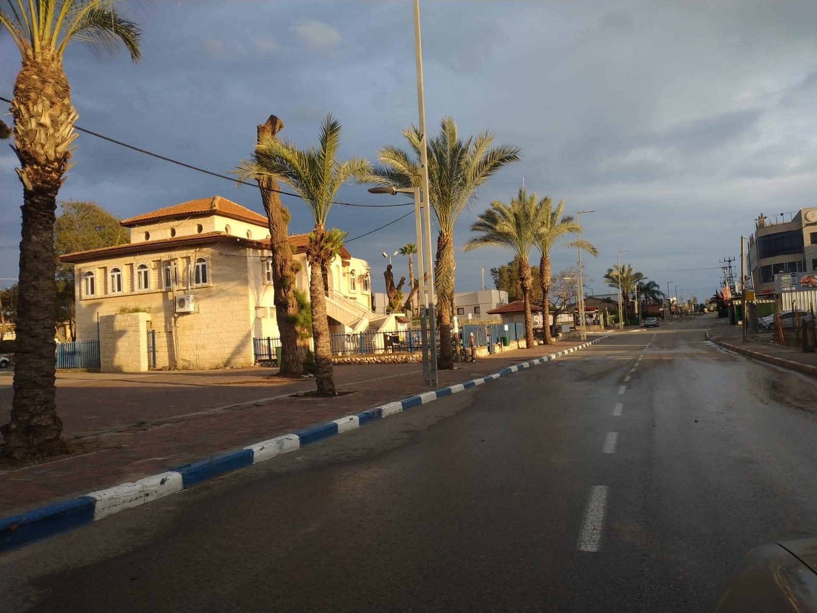 כביש שמוביל לרחוב סמילו | צילום: אביטל אורמן