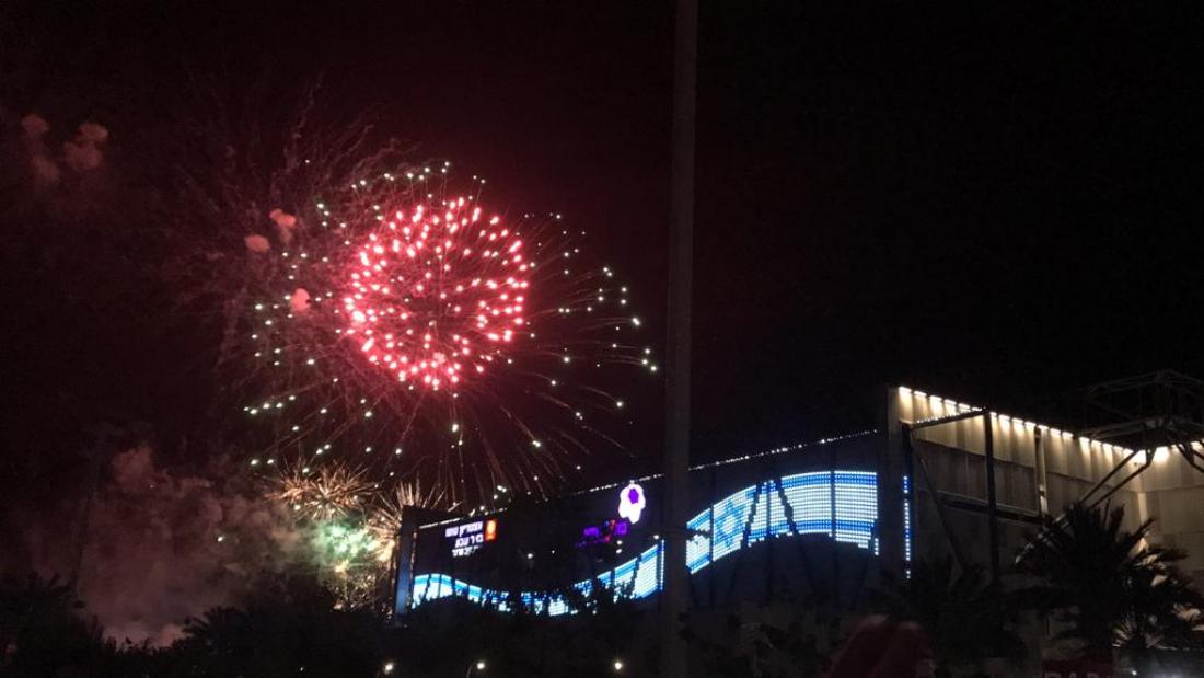 יום עצמאות 2019 בבאר שבע. צילום: ארנולד נטאיי