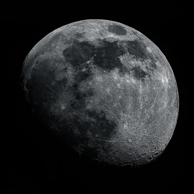 הירח. צילום: מיכאל קליקה