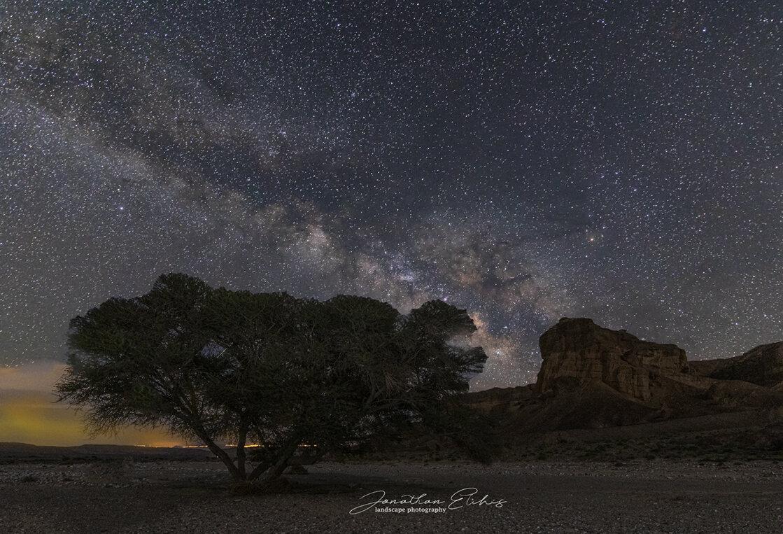 כוכבים, מצפה רמון. צילום: יונתן אליכיס