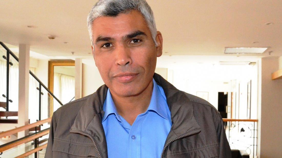 אלחרומי. אמר שיוותר על מקומו בכנסת אם תהיה הסדרה בנגב. צילום: סאמי עבד אלחמיד, מתוך ויקיפדיה